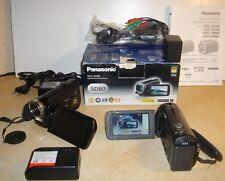 Digital Camcorder Panasonic HDC-SD 80 Full HD + 32 GB+ Praktika DVC 14.1 Full HD
