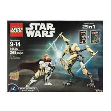 NEW LEGO STAR WARS 66535 OBI-WAN KENOBI & GENERAL GRIEVOUS BUILDABLE FIGURES