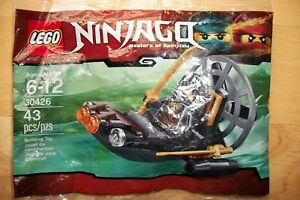 New LEGO Ninjago 30426 Cole Stealthy Swamp Airboat