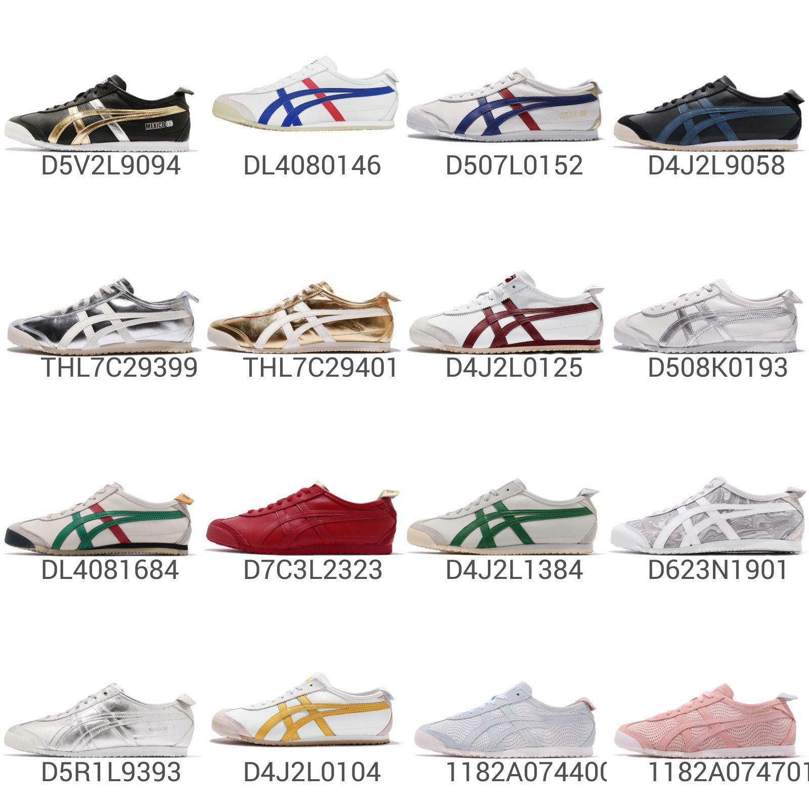 Asics Onitsuka Tiger Mexico 66 Men mujer Vintage Running zapatos zapatillas Pick 1