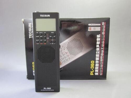 TECSUN PL-360 ETM PLL DSP World Band Radio PL360(Black)