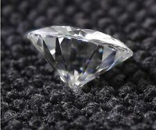 1ct carat 6.5mm F Color Round Cut Lab-created grown Loose Moissanite Diamond