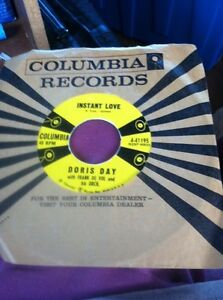 Columbia Records 45 Doris Day Everybody Loves A Lover/ Instead Love