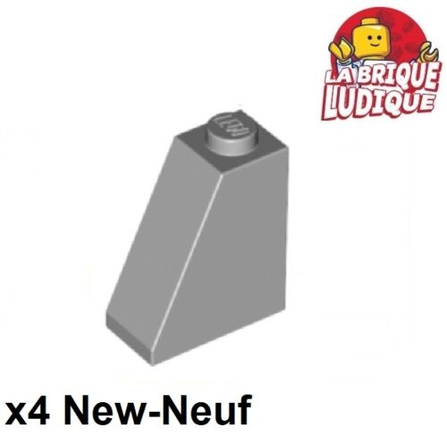 LEGO Bau- & Konstruktionsspielzeug 4x Steigung geneigt 65 2x1x2 grau/light Angebot gray 60481 neu LEGO Bausteine & Bauzubehör Lego