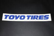 Toyo Tires Reifen Pneu Aufkleber Sticker Decal Bapperl Kleber Logo Schriftzug bl