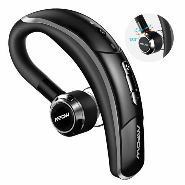 Écouteurs Casque Mpow Oreillette Bluetooth Pour iOS Android Ordinateur Cadeau