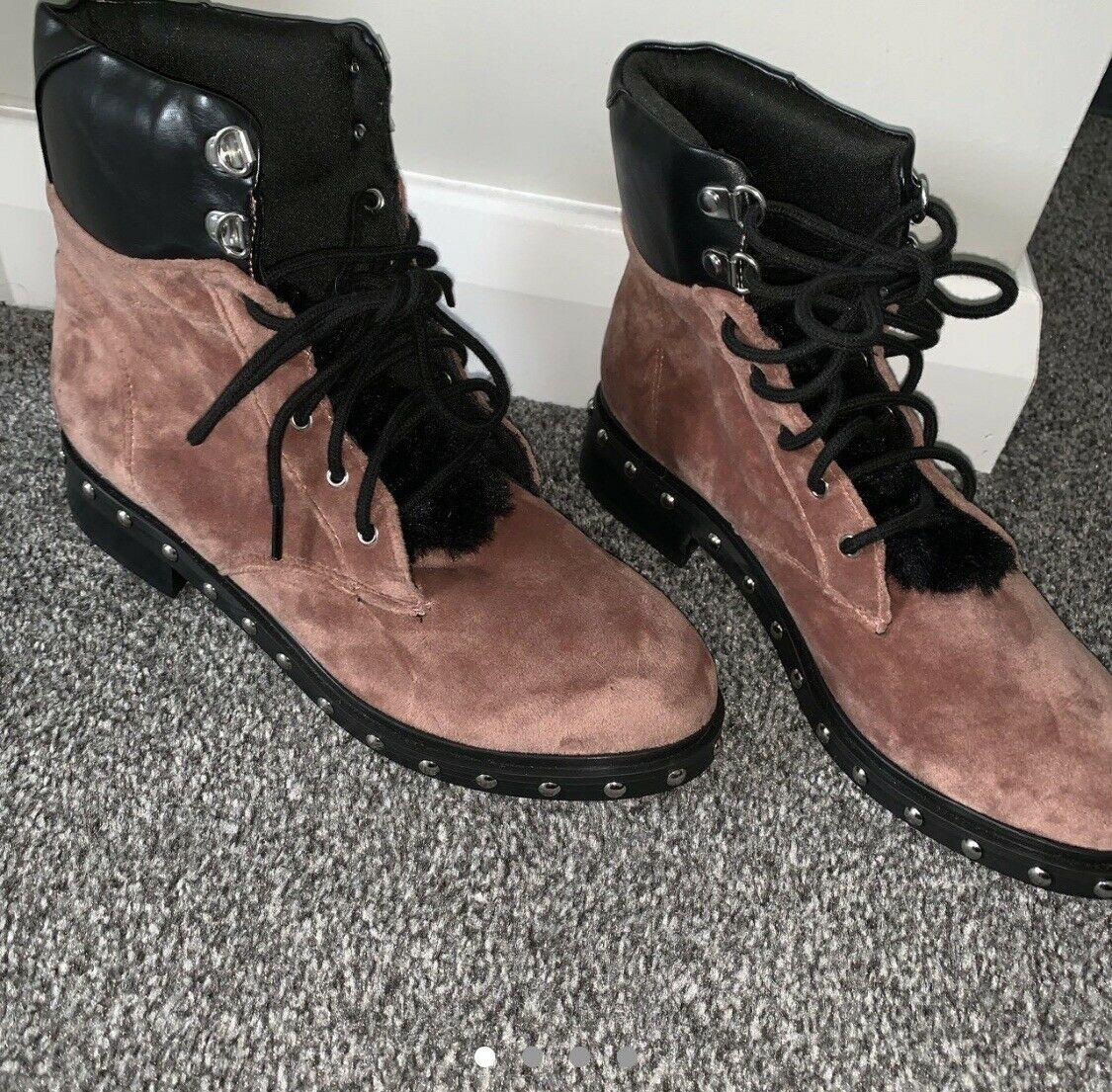River Island Hiker Boots Size 4