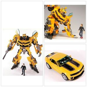 BUMBLEBEE TRANSFORMERS HUMAN ALLIANCE SAM WITWICKY ROBOT CAR ACTION FIGURES TOY