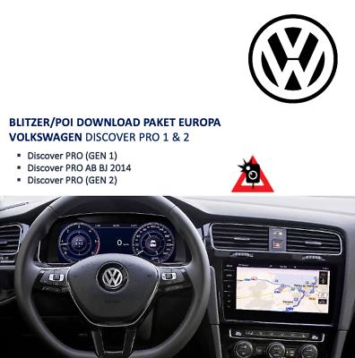 Blitzer//poi UE download VW Discover Pro-sempre aggiornati!