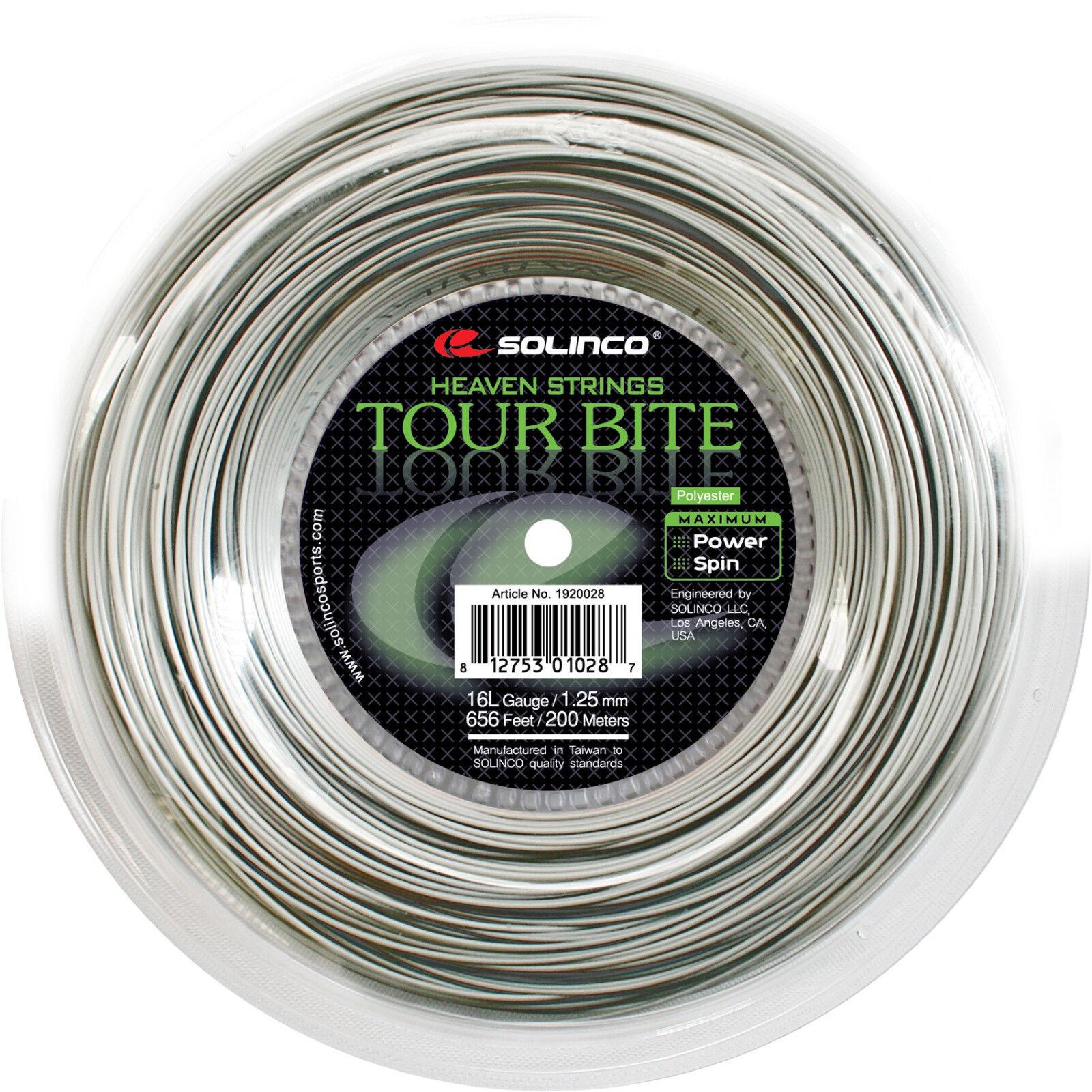 Solinco Tour Bite 200 m - Tennissaiten