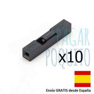 10-conector-1pin-2-54mm-hembra-cable-dupont-puente-jumper-Arduino-electronica-1p