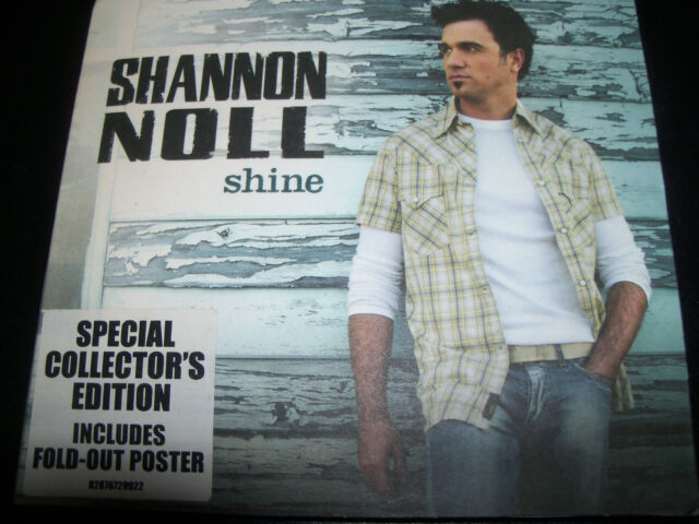 Shannon Noll Shine Special Collectors Edition With Foldout Poster – Like New