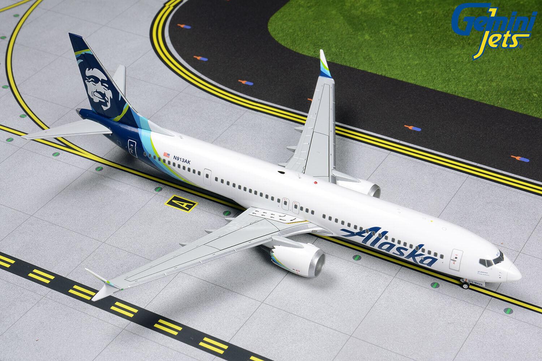 Gemini Jets 1 200 Alaska Airlines Boeing Boeing 737 MAX 9 N913AK G2ASA855 IN STOCK