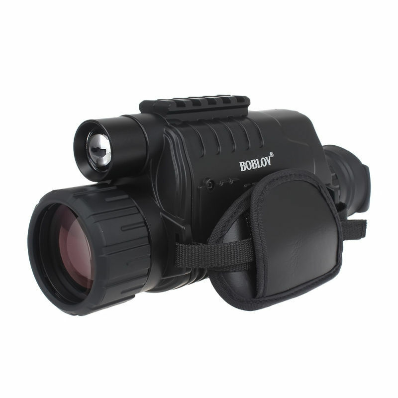 Digital IR Night Vision Monocular Camera DVR +Free 2 Battery+Charger Kit+8GB SD