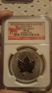2015-Canada-Maple-Leaf-Goat-Privy-Reverse-Proof-NGC-PF70-Year-Of-The-Goat-Label