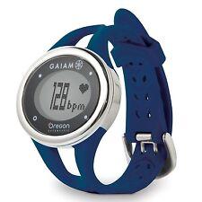 Oregon Scientific SE338M Gaiam ECG Touch Watch, Navy NEW