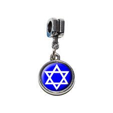 Star of David - Shield Jewish - Italian European Style Bracelet Charm Bead