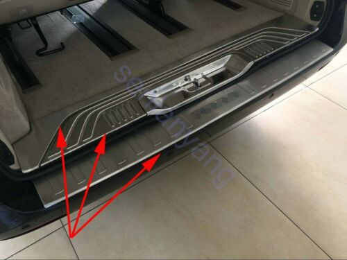 Steel Rear Bumper Protector Cover Trim for 2014-2018 Mercedes-Benz V-Class W447
