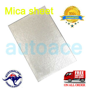 4MICROWAVE OVEN MICA WAVE GUIDE COVER SHEET for Galanz Midea Panasonic AU