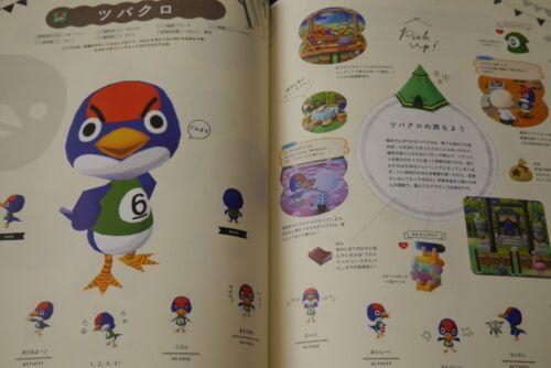 Guide Book JAPAN Animal Crossing Pocket Camp Doubutsu to Kagu no Hon