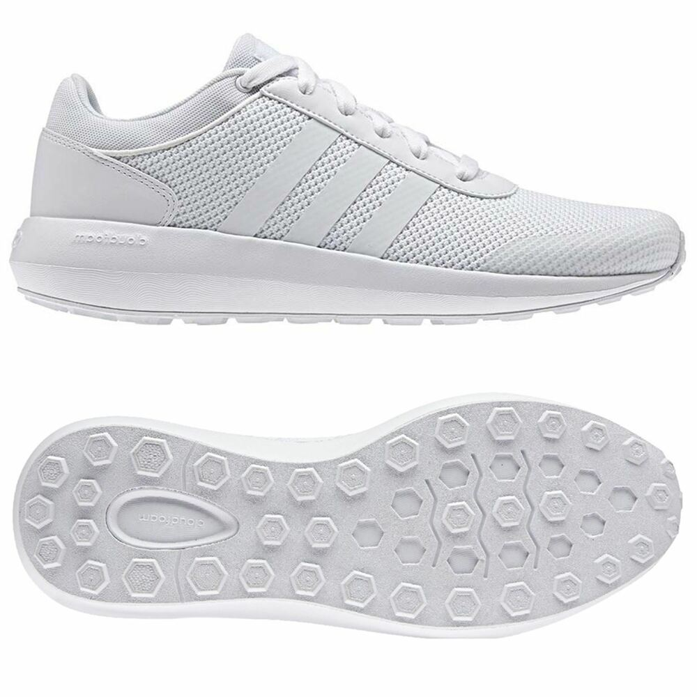 Adidas Neo Cloudfoam Course Baskets Chaussures Hommes fonctionnement UK Tailles 9.5 - 12 Fitness-