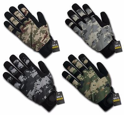 Digital Camo Tactical Hunter Gloves Universal