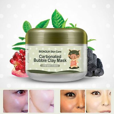 Whitening CarBonated Bubble Clay Mask Oxygen Mud Moisturizing Deep Cleanse 100g