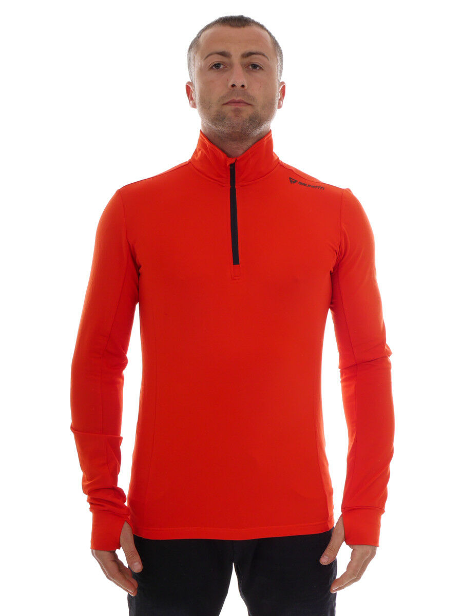 Brunotti Fleece Pul r  Function Top Red Warm Terni  save up to 80%