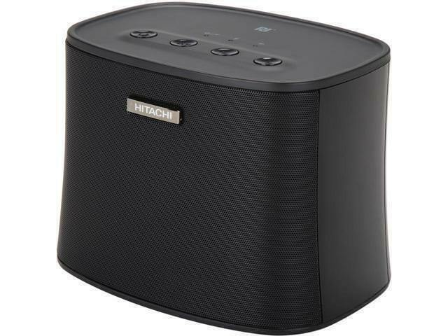 Hitachi S-Model W10 Smart Wireless Speaker - Black