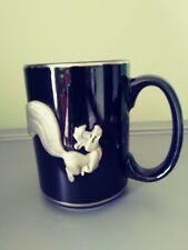 Black Looney Tunes Pepe Le Pew Travel Mug