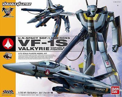BANDAI VARIABLE VALKYRIE 1//72 VF-1S ROY FOCKER SPECIAL Plastic Model Kit Macross