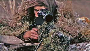 Camouflage-3D-Rifle-Gun-Wrap-Cover-For-Camo-Yowie-Ghillie-Suit-Sniper