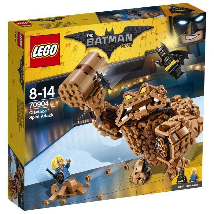 LEGO® Batman Movie 70904 L'attaque de Gueule d'argile™