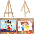 Kids Mini Wooden Easel Artist Art Painting Name Card Stand Display Holder SB