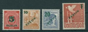 Germany-Berlin-vintage-yearset-1949-Mi-64-67-Mint-MNH-Tested-More-Shop