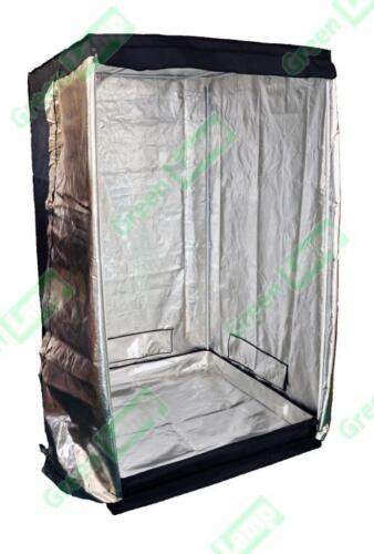 Premium 100 cm x 100 cm x 200 cm 600D Argent Mylar Grow Tent Bud Box Hydroponics