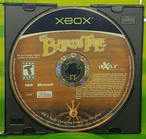 The-Bard-039-s-Tale-Original-OG-Microsoft-Xbox-Game-Tested-Working