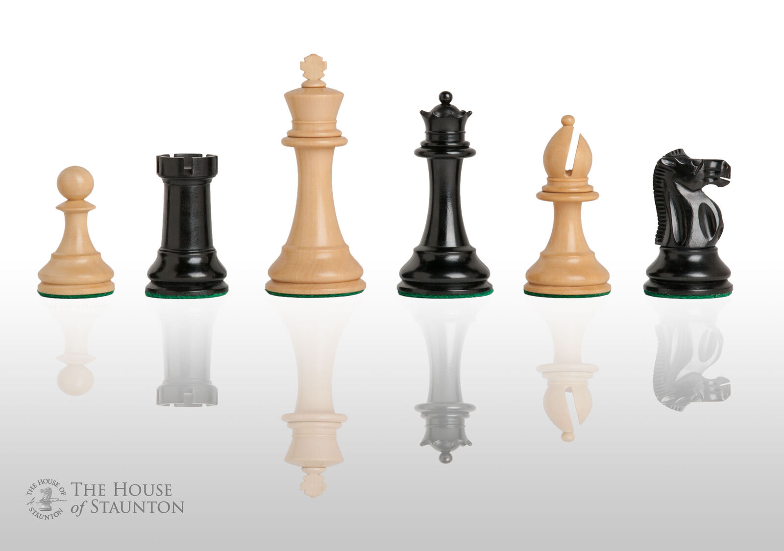 USCF Sales The British Chess Company Staunton Popular Chess Set