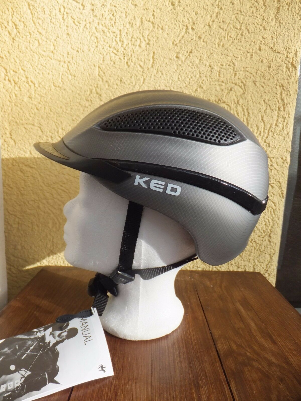 KED® titan Reithelm Reitkappe PASO titan KED® mesh 4f0326