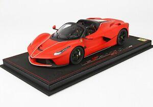 Ferrari-LaFerrari-Aperta-Red-F1-BBR-1-18-P18135RSF90-Limited-Ed-28-pcs