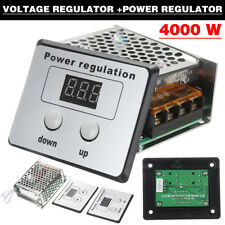 4000w Ac Scr Electric Voltage Regulator Dimmer Motor Speed Controller Power 220v