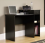 mainstays student desk, blackwood finish