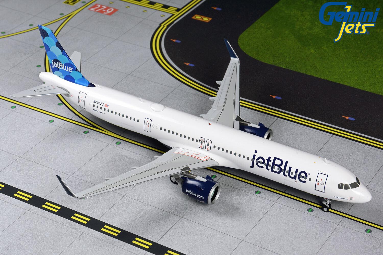 Gemini Jets 1 200 jetbluee jetbluee Airways Airbus A321neo N2002J G2JBU869 PREORDER