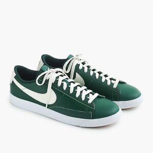 97549b5cd Nike   J. Crew  J0390 Men s Vintage Blazer Green White Leather ...