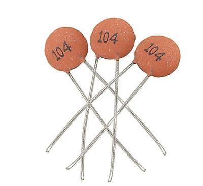 100pcs/bag Ceramic Disc Capacitors 50V 100nF 0.1uF 104pF  USBB