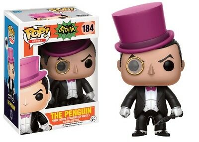 Vinyl Marvel Figurine Funko Pop Neuf Batman 184 The Penguin