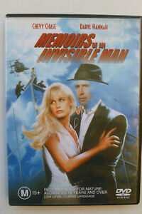 Memoirs-Of-An-Invisible-Man-Rare-DVD-Chevy-Chase-Comedy-Free-Post