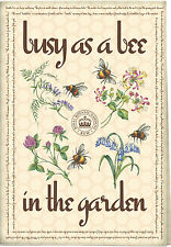 Royal Botanic Gardens Kew ocupado como una abeja Algodón Toalla de té
