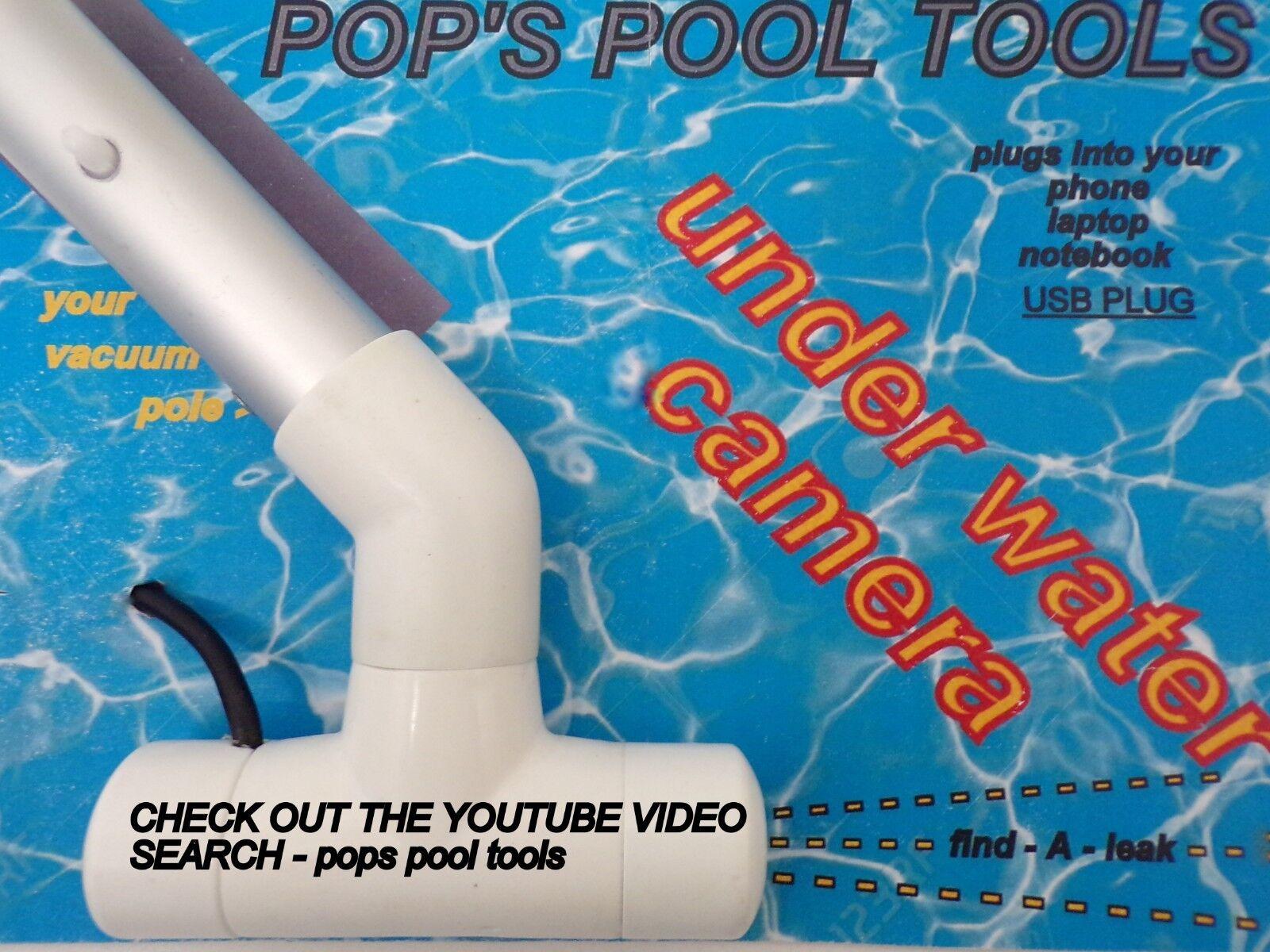 Cámara de fuga de piscina-piscina Detector De Fugas-piscina-piscina de fugas buscador de fugas