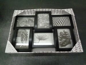 Azzure Home 6 Opening Decorative Wall Hanging Collage Picture Frame